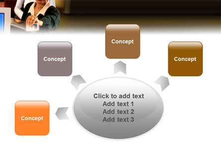 Bank Account PowerPoint Template Slide 7