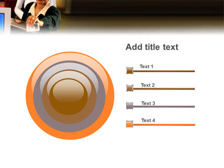 Bank Account PowerPoint Template Slide 9