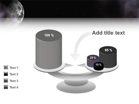 Moon PowerPoint Template Slide 10