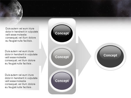 Moon PowerPoint Template Slide 11