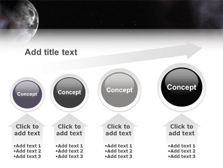 Moon PowerPoint Template Slide 13