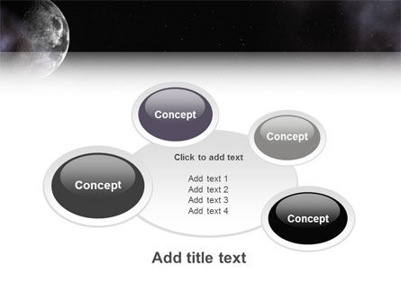 Moon PowerPoint Template Slide 16