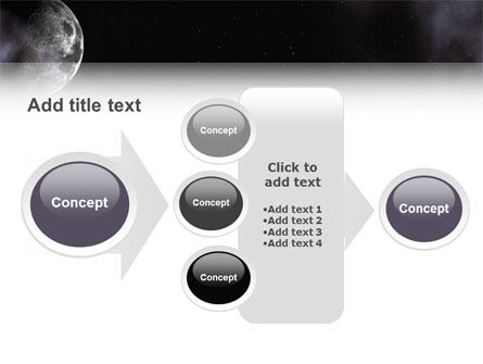 Moon PowerPoint Template Slide 17