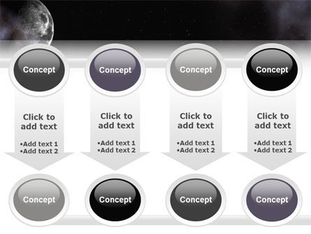 Moon PowerPoint Template Slide 18