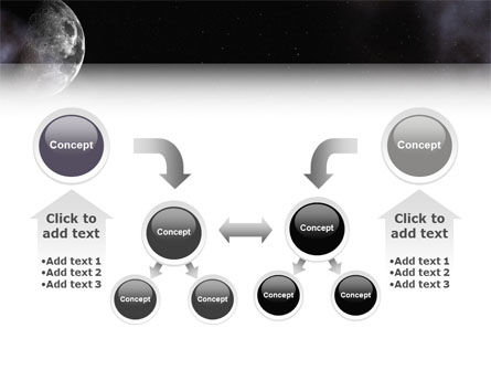 Moon PowerPoint Template Slide 19