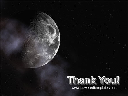 Moon PowerPoint Template Slide 20