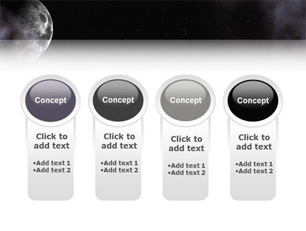 Moon PowerPoint Template Slide 5