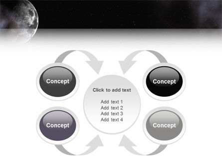 Moon PowerPoint Template Slide 6