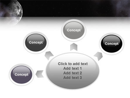 Moon PowerPoint Template Slide 7