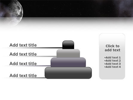 Moon PowerPoint Template Slide 8