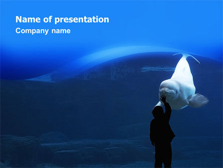 Animals and Pets: Aquarium PowerPoint Template #02674