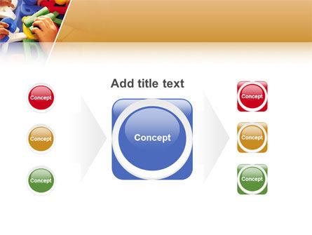 Alphabet Game PowerPoint Template Slide 17
