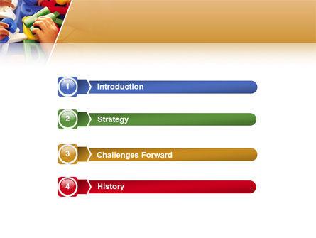 Alphabet Game PowerPoint Template, Slide 3, 02675, Education & Training — PoweredTemplate.com