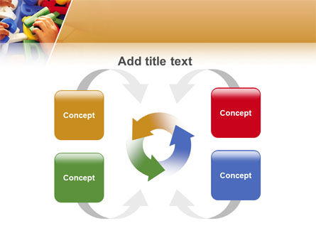 Alphabet Game PowerPoint Template Slide 6