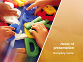 Education & Training: Alphabet Game PowerPoint Template #02675