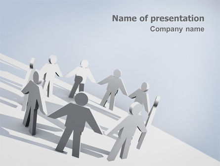Business Concepts: Community PowerPoint Template #02677