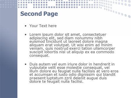 Data Flow PowerPoint Template, Slide 2, 02678, Telecommunication — PoweredTemplate.com