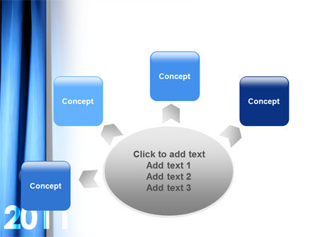 Year 2011 PowerPoint Template Slide 7