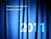 Holiday/Special Occasion: Year 2011 PowerPoint Template #02679