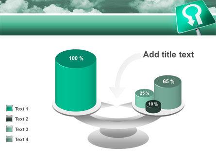 U Turn PowerPoint Template Slide 10