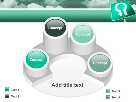 U Turn PowerPoint Template Slide 12