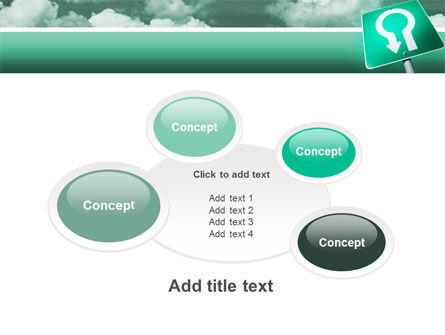 U Turn PowerPoint Template Slide 16