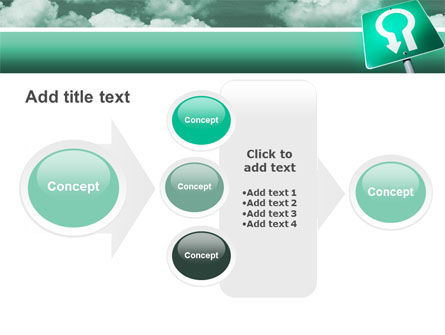 U Turn PowerPoint Template Slide 17