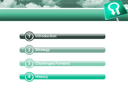 U Turn PowerPoint Template, Slide 3, 02680, Consulting — PoweredTemplate.com