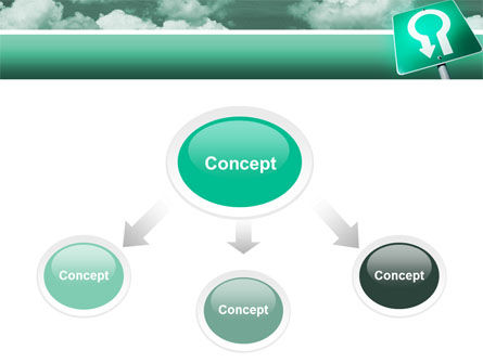 U Turn PowerPoint Template Slide 4