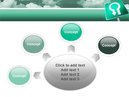 U Turn PowerPoint Template Slide 7