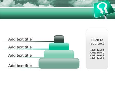 U Turn PowerPoint Template Slide 8