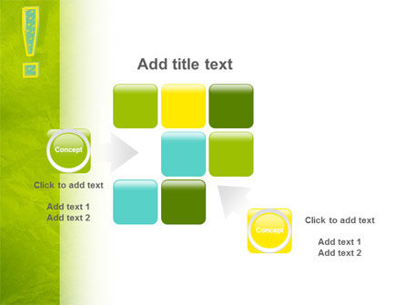 Exclamation Mark PowerPoint Template Slide 16