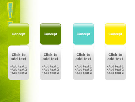 Exclamation Mark PowerPoint Template Slide 5