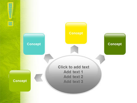 Exclamation Mark PowerPoint Template Slide 7