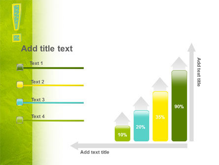 Exclamation Mark PowerPoint Template Slide 8
