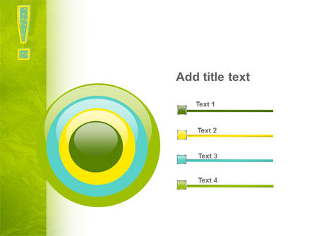 Exclamation Mark PowerPoint Template Slide 9