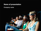 Art & Entertainment: Cinema PowerPoint Template #02684