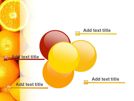 Oranges PowerPoint Template Slide 10