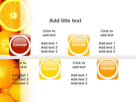 Oranges PowerPoint Template Slide 19