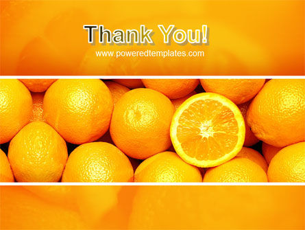 Oranges PowerPoint Template Slide 20