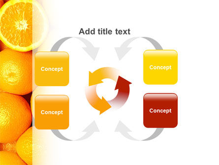 Oranges PowerPoint Template Slide 6