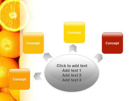 Oranges PowerPoint Template Slide 7