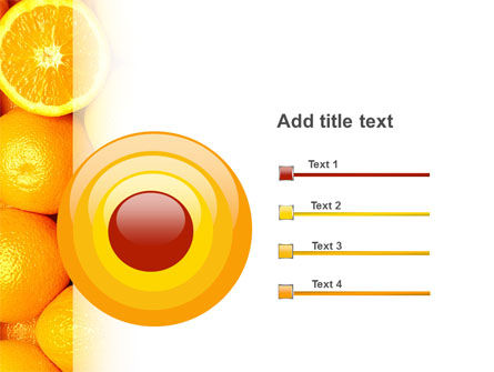 Oranges PowerPoint Template Slide 9