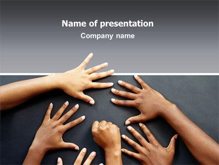 Religious/Spiritual: Vielfalt PowerPoint Vorlage #02689