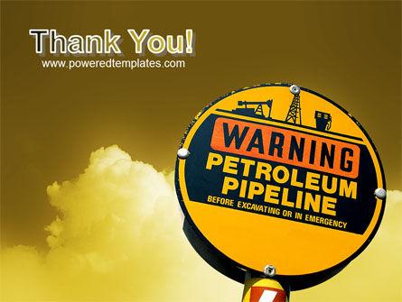 Petroleum Pipeline PowerPoint Template Slide 20