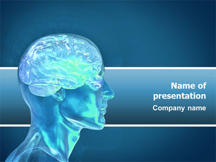 Medical: Brain Activity PowerPoint Template #02693