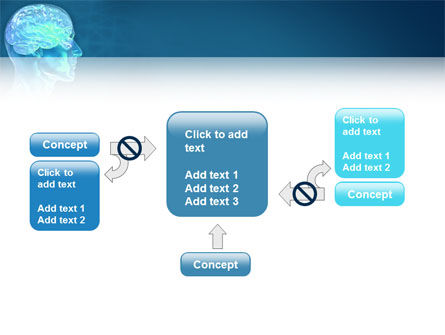Brain Activity PowerPoint Template Slide 13