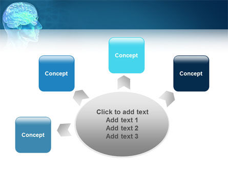 Brain Activity PowerPoint Template Slide 7