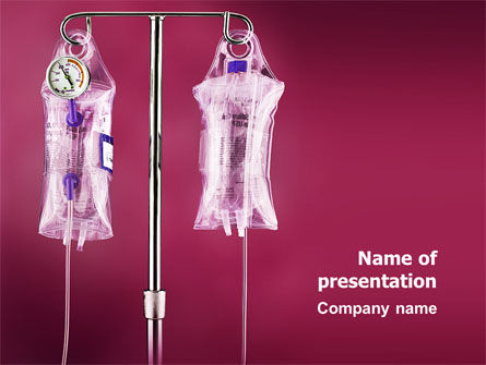 Medical: Transfusion PowerPoint Template #02694