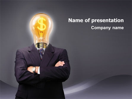Make Money PowerPoint Template, 02696, Business Concepts — PoweredTemplate.com